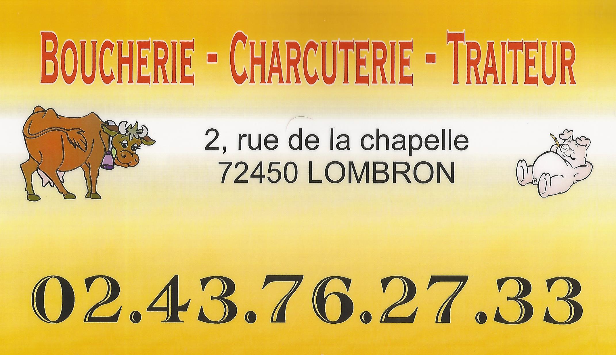 sponsor boucherie lombron